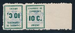 ** TIMBRES DE GREVE - ** - N°1b - Paire - Tête Bêche - BDF - TB - Strike Stamps