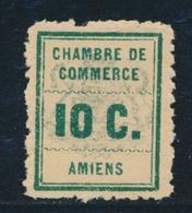 ** TIMBRES DE GREVE - ** - N°1d - Sans Teinte De Fond - TB - Strike Stamps