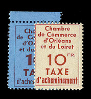 ** TIMBRES DE GREVE - ** - N°2/3 - Orléans - N°2 Bdf -TB - Strike Stamps