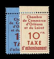 ** TIMBRES DE GREVE - ** - N°2/3 - Orléans - TB - Strike Stamps