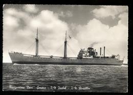 GENOVA - 1953 - NAVIGAZIONE DANI - TURBONAVE ISABEL E ROSELLIN - Commercio