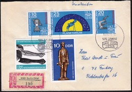 Germany DDR Berlin 1971 / Astronomy - The 125th Anniversary Of Carl Zeiss Jena / R Letter - Astrologie