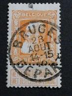 Belgique COB N° 79 Oblitération Bruges Départ - 1905 Grosse Barbe