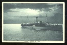 GERMANIA - DEUTSCHLAND - 1911 - NAVE DEMPFER ODIN AUF DER FAHRT - Commercio