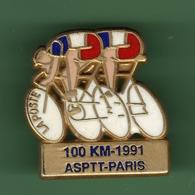 LA POSTE *** ASPTT PARIS CYCLISME *** Signe TOSCA *** POSTE-04 - Mail Services