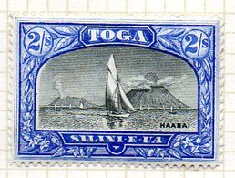 OCEANIE - TONGA - (Protetorat Britannique) - 1897 - N° 49 - 2 S. Outremer Et Gris - (Vue De Ha'apai) - Timbres
