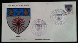 GABON - FDC 1974 - YT N°324 - Blason De Booue - Gabon (1960-...)