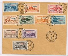 L MAROC - POSTE AERIENNE - L - N°22/31 - S/pli Non Voyagé - Obl TANGER Chérifien Le 1/2/1929 - TB - Par EDITEURS