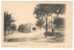 CASTIGLIONE - AVENUE DE COLEA ET RUE CARNOT- ALGERIE.. - Other Cities
