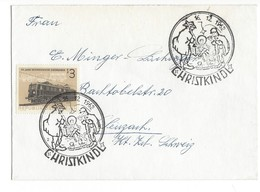 20965 - Christkindl  15.12.1962 Lettre - Noël