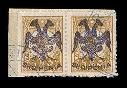 F ALBANIE - F - N°2 Paire - 5pa Bistre - TB - Albanie