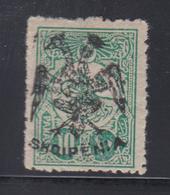 * ALBANIE - * - N°3 - 10pa Vert - Signé Calves - TB - Albanie