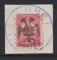 F ALBANIE - F - N°5 - 20pa Rose - Signé Calves - TB - Albanie