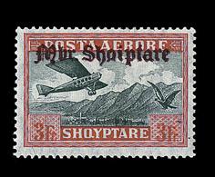 * ALBANIE - POSTE AERIENNE - * - N°22/28 - TB - Albanie