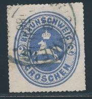 O BRUNSWICK - O - N°14 - 2g. Bleu - TB - Brunswick
