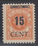 * MEMEL - * - N°176 - TB - Klaipeda
