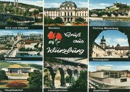 GRUS AUS WURZBURG- VIAGGIATA - Wuerzburg