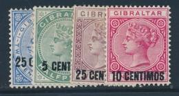 * GIBRALTAR - * - N°15/18 - TB - Gibraltar