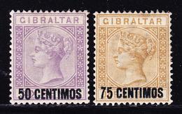 * GIBRALTAR - * - N°20/21 - 2 Valeurs - TB - Gibraltar