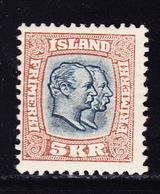 * ISLANDE - * - N°61 - Comme ** - TB - Islande