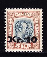 * ISLANDE - * - N°122 - Assez Bon Centrage - TB - Islande
