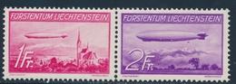 ** LIECHTENSTEIN - POSTE AERIENNE  - ** - N°15/16 - TB - Poste Aérienne