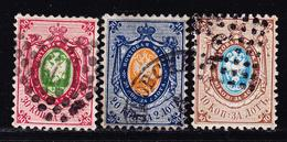 O RUSSIE - O - N°5/7 - Dentelé 12½ - TB - 1857-1916 Empire