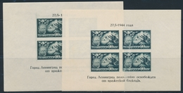 ** RUSSIE - BLOCS FEUILLETS  - ** - N°4 - Avec Variété Inscriptions Très Décalées (en Bas) - TB - 1923-1991 URSS