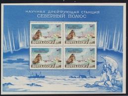 ** RUSSIE - BLOCS FEUILLETS  - ** - N°28, 31 - Mission Au Pôle Nord - TB - 1923-1991 URSS