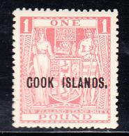 * ILES COOK - * - N°51 - 1£ - TB - Cook