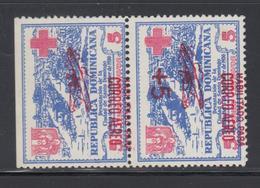 **/* REP. DOMINICAINE - **/* - N°12 Paire - Surcharge Renversée Tenant à Normal - TB - Dominicaine (République)