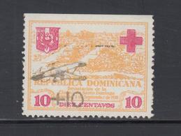 ** REP. DOMINICAINE - ** - N°14 - Surcharge Linéaire Part. Effacée - Signé - TB - Dominicaine (République)