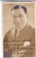 JOSE GOMEZ, ACTOR ESPAÑOL. AUTOGRAPHE. CIRCA 1930 SIZE 9x14cm- BLEUP - Autographs