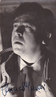 GLAUCO MAURI, ACTOR ITALIAN. AUTOGRAPHE. CIRCA 1955 SIZE 9x14cm- BLEUP - Autographs