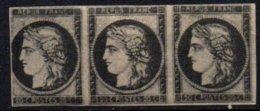 FRANCE - 20 C. Neuf En Bande De 3 FAUX - 1849-1850 Cérès