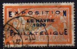 FRANCE - Exposition Du Havre Oblitéré Avec Surcharge FAUSSE - France