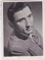 RENATO RASCEL, SINGER ACTOR ITALIAN. AUTOGRAPHE. CIRCA 1930 SIZE 9x14cm- BLEUP - Autographs