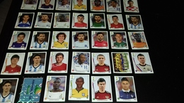 Lot Images Autocollantes Panini Coupe Du Monde De Football 2014 - Panini