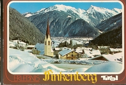 Austria &  Circulated, Greetings From Finkenberg, Zillertal Mayrhofen, Tirol, Le Chesnay France   (3513) - Souvenir De...