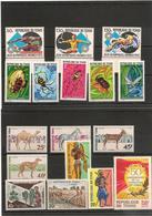 TCHAD    Année 1972 LOT** Côte : 16,10 € - Tchad (1960-...)