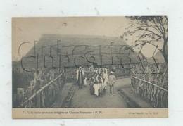 Guinée Française Ou République De Guinée : Une école Primaire En 1930 (animée) PF.. - Guinée
