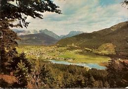 Austria &  Circulated, Greetings From Seefeld Tirol, Cafe Le Central, Valence France 1972 (337) - Souvenir De...