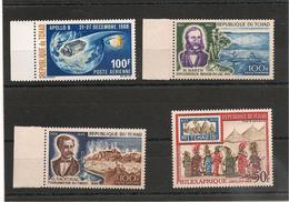 TCHAD    Année 1969 P.A. N°Y/T: 52/55** Côte : 13,40 € - Tchad (1960-...)