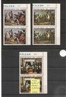 TCHAD   Napoléon 1er Année 1969 N°Y/T:61/63** Côte : 17,40 € - Tchad (1960-...)