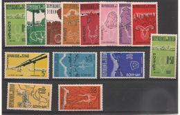 TCHAD   Année 1961/62 N°Y/T : 66/78**/* - Tchad (1960-...)