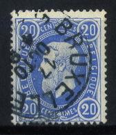 "BÈLGICA-Mi. 28 Ab- "" Preussischblau "" -N-12148 - 1869-1883 Leopold II"