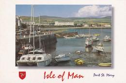 Postcard Isle Of Man Port St Mary IOM My Ref  B23230 - Isle Of Man