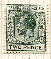 AMERIQUE CENTRALE - BAHAMAS - (Colonie Britannique) - 1912-19 - N° 45 - 2 P. Gris - (George V) - Central America