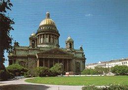 LENINGRAD-ISAAK KATHEDRALE-  VIAGGIATA - Russia