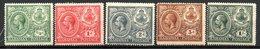 AMERIQUE CENTRALE - BAHAMAS - (Colonie Britannique) - 1920 - N° 70 à 74 - (Lot De 5 Valeurs Différentes) - Amérique Centrale